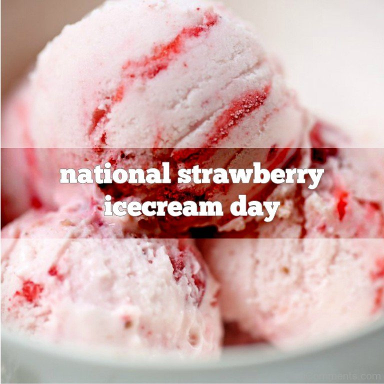Download Sweet Quotes Wallpapers National Strawberry Ice Cream Day Desicomments Com