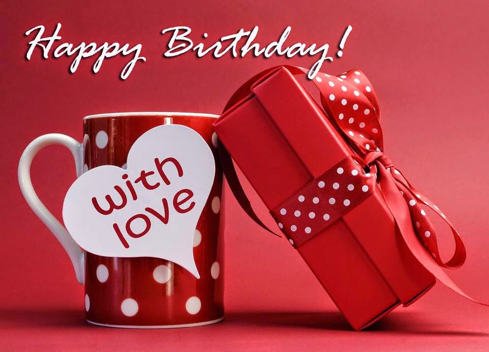 Happy Birthday With Love - DesiComments