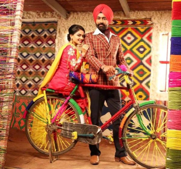 Punjabi Couple Wallpaper With Quotes Tarsem Jassar With Simi Chahal Desicomments Com