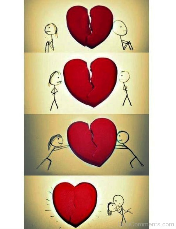 Cute Love Animations Wallpapers Amazing Love Drawing Image Desicomments Com