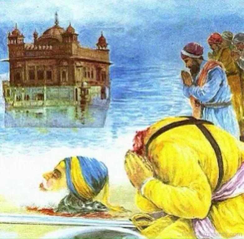 3d Khanda Wallpaper Baba Deep Singh Ji Pictures And Images