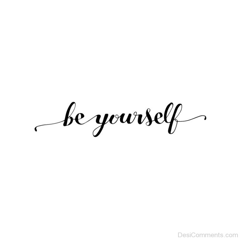 Background Wallpaper Quotes Be Yourself Text On White Background Desicomments Com