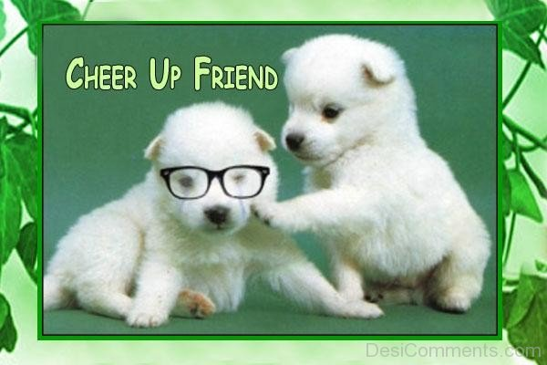 Awesome Sad Quotes Wallpapers Cheer Up Friend Cute Pups Desicomments Com