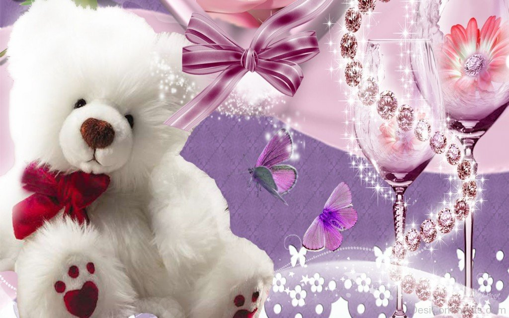 Sad Couple Quotes Wallpapers Cute Teddy Bear White Desicomments Com