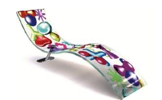 KX-IKONS 3D Chaise Longue-Lounger-Daybed by Karim Rashid (2005) from AITALI (Copyright: © Karim Rashid, AITALI)