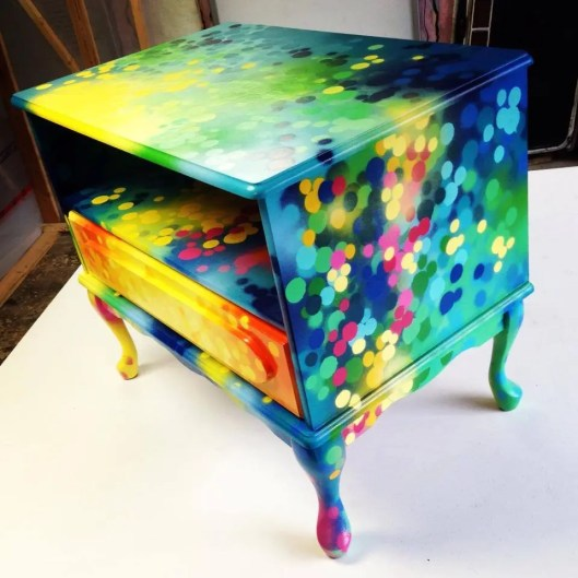 SARAHs FURNITURE And More By Canadian Graffiti Artist