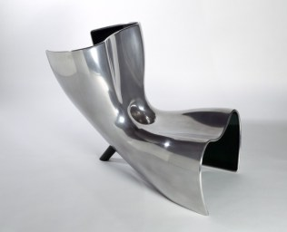 Felt chair chaise longue lounger by marc newson from for Chaise longue paris