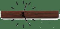 Wanduhr Holz Design