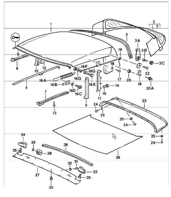 porsche 356 wiring diagram