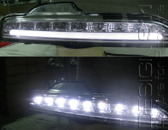 Buy Porsche Boxster 986/987/981 LED Daytime Running Lamps Design 911