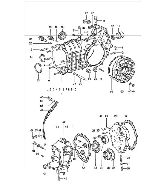 1968 porsche 911 wiring diagram