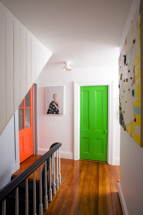 11 Boldly Painted Interior Doors - Design Asylum Blog | by ...