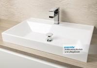 Badezimmer Set mit Spiegelschrank und Waschbecken Luxor ...