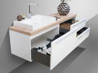 Badezimmer Set mit Spiegelschrank und Waschbecken Luxor | eBay