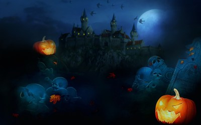45 Scary Halloween 2012 HD Wallpapers | Pumpkins, Witches, Spider Web, Bats & Ghosts Collection ...