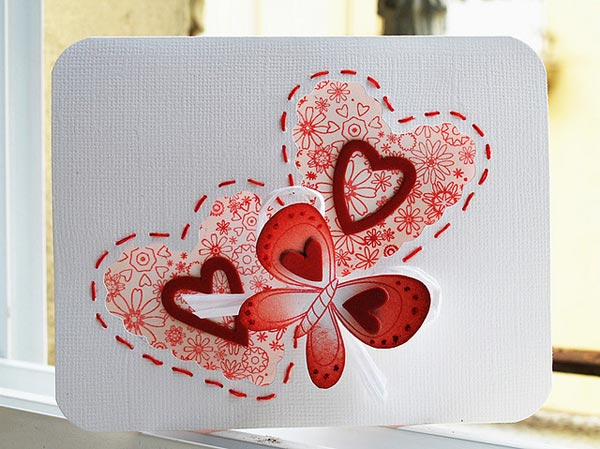 designs for valentines card