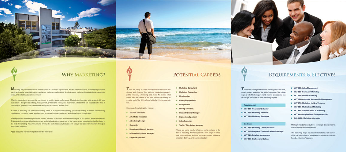 20+ Simple Yet Beautiful Brochure Design Inspiration  Templates