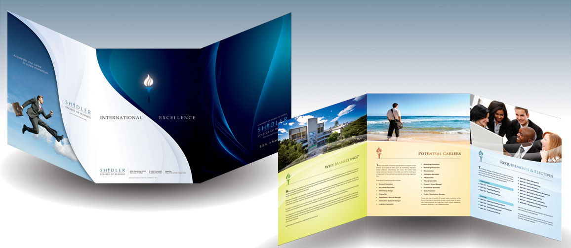 trifold brochure design ideas - Ozilalmanoof - sample bi fold brochure