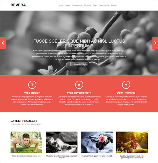 12 Best Free Blog  Business WordPress Themes For October \u2013 November - best free wordpress templates