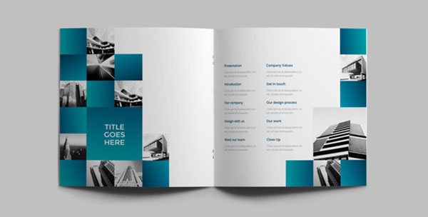 25 Really Beautiful Brochure Designs \ Templates For Inspiration - architecture brochure template