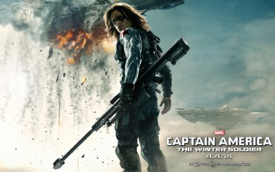 Captain America: The Winter Soldier HD Wallpapers & Facebook Covers – Designbolts