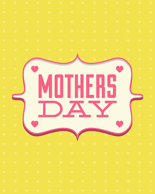 30+ Free Printable Vector  PSD Happy Mother\u0027s Day Cards 2014 - mother sday cards