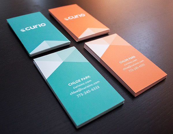 Polygon business card example 30+ Beautiful Examples of Modern Business Card Designs for Inspiration
