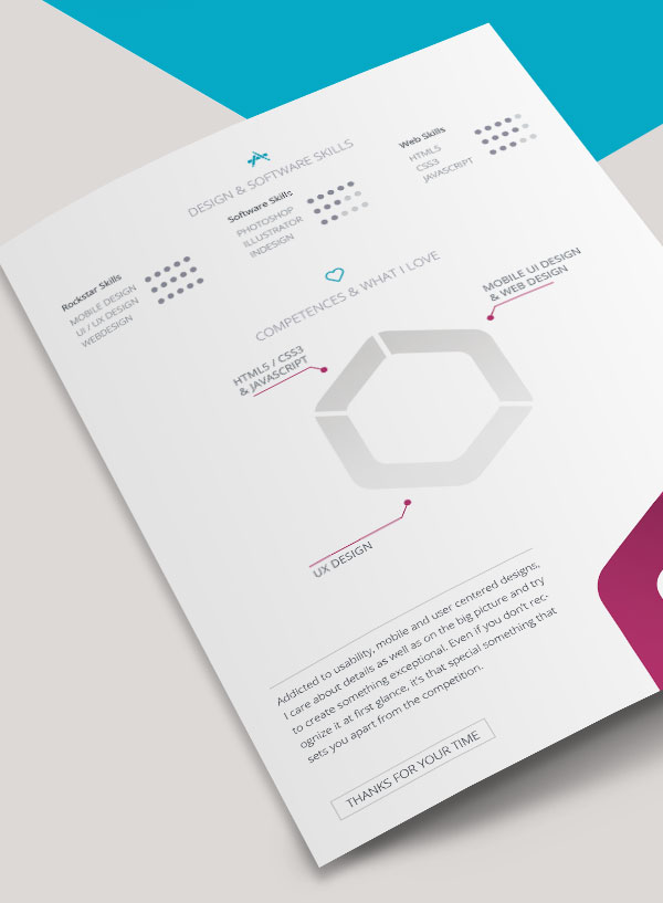 10 Best Free Resume (CV) Templates in Ai, Indesign  PSD Formats
