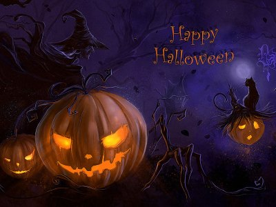 Free Scary Halloween Backgrounds & Wallpaper Collection 2014 – Designbolts