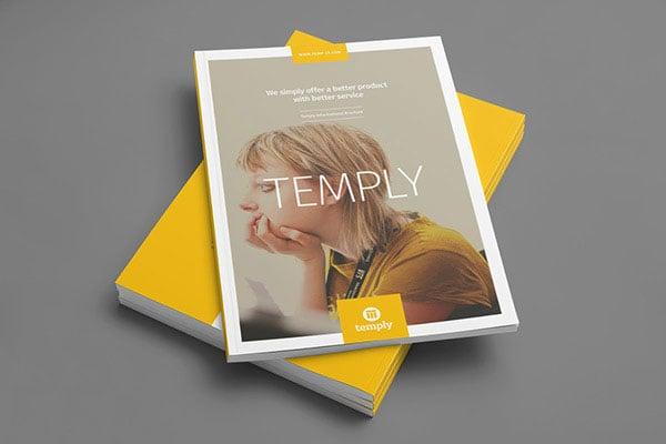 35+ Beautiful Modern Brochure  Folder Design Ideas 2014