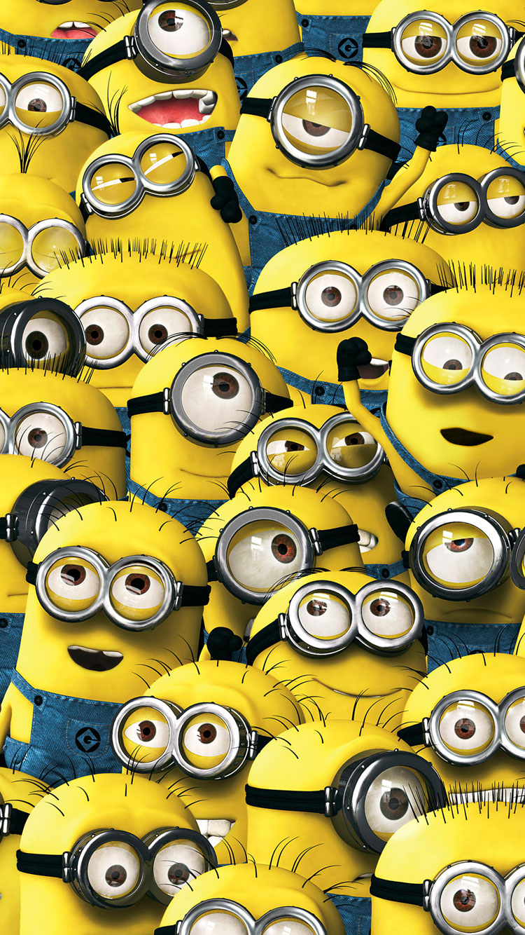 Minions 2015 movie iphone 6 wallpaper in good quality