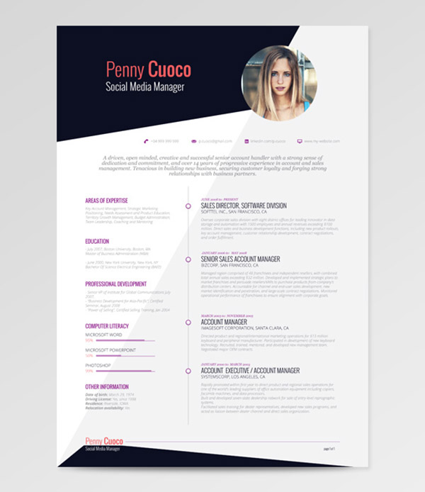 Ultimate Collection Of Free Adobe Indesign Templates 50 Beautiful Free Resume Cv Templates In Ai Indesign