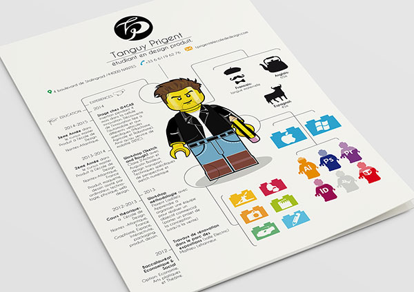 10 Absolutely Crazy Yet Creative Resume Designs for Inspiration