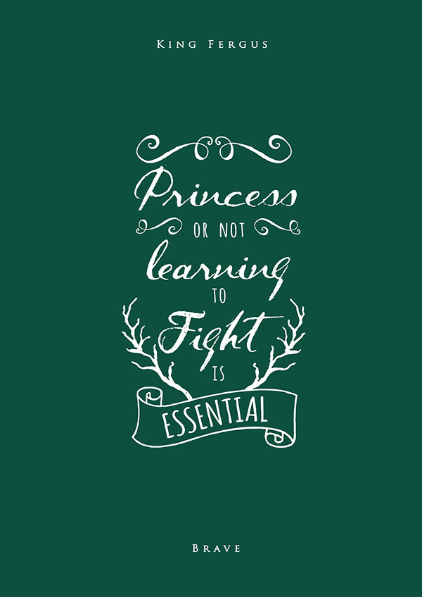 The Little Mermaid Quote Iphone Wallpaper 19 Inspiring Disney Movies Typography Posters By Nikita Gill