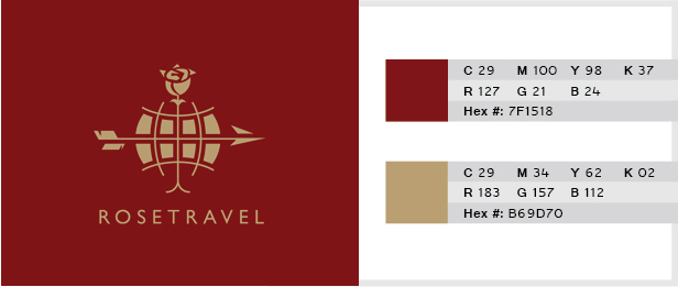 best color combinations for logos