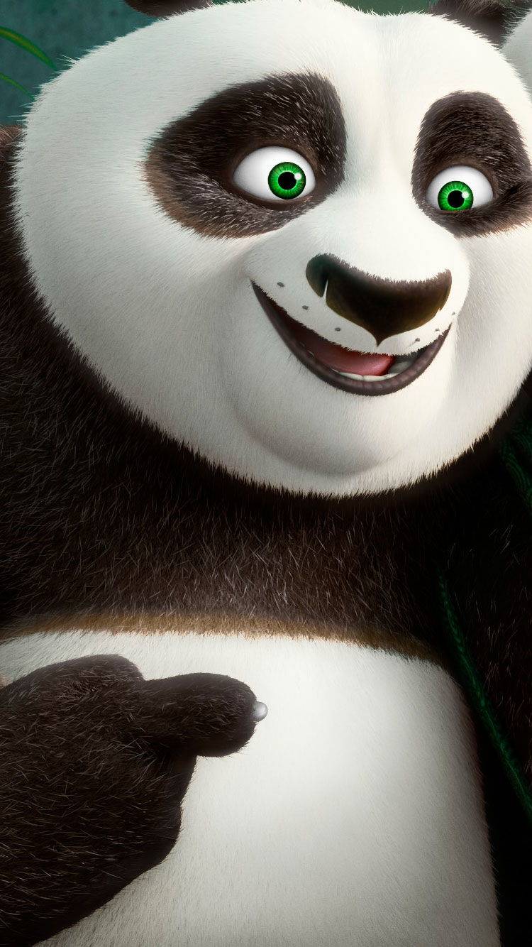 kung fu panda po iphone wallpaper 2