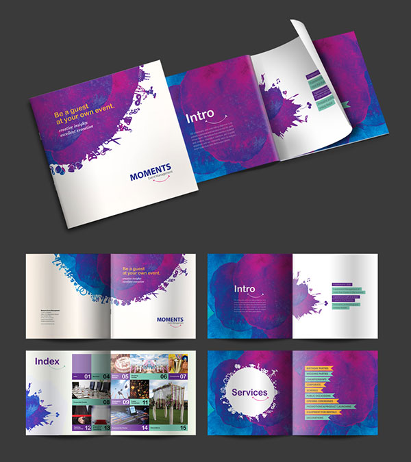 Dubai Brochure Design Examples - brochure design idea example