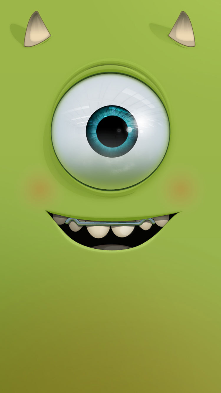 Cute Mike Wazowski Wallpaper 20 Cool Wallpapers Amp Backgrounds For Iphone 6 Amp Se In Hd