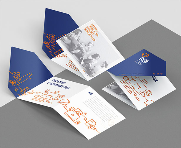 20+ Fresh Beautiful Brochure Design Layout Ideas for Graphic Designers