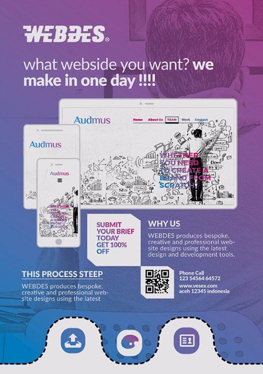 app for flyers design