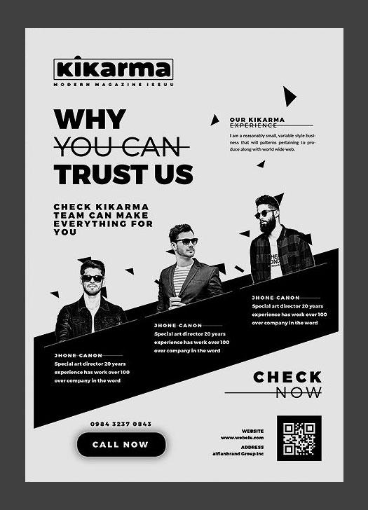2017 Modern 20+ Flyer Designs for Inspiration - promotional flyer designs