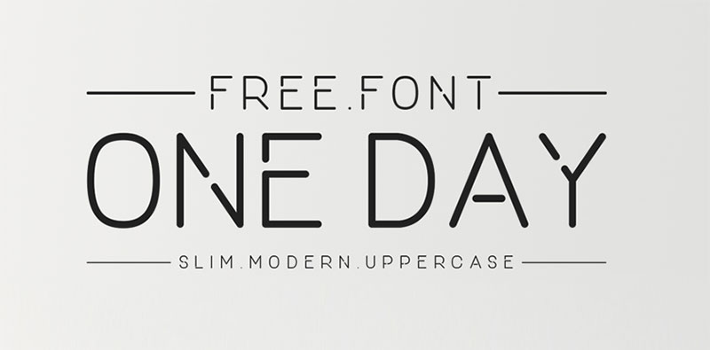 10 Free Thin fonts for Elegant and Modern Designs of 2017 - modern logo fonts
