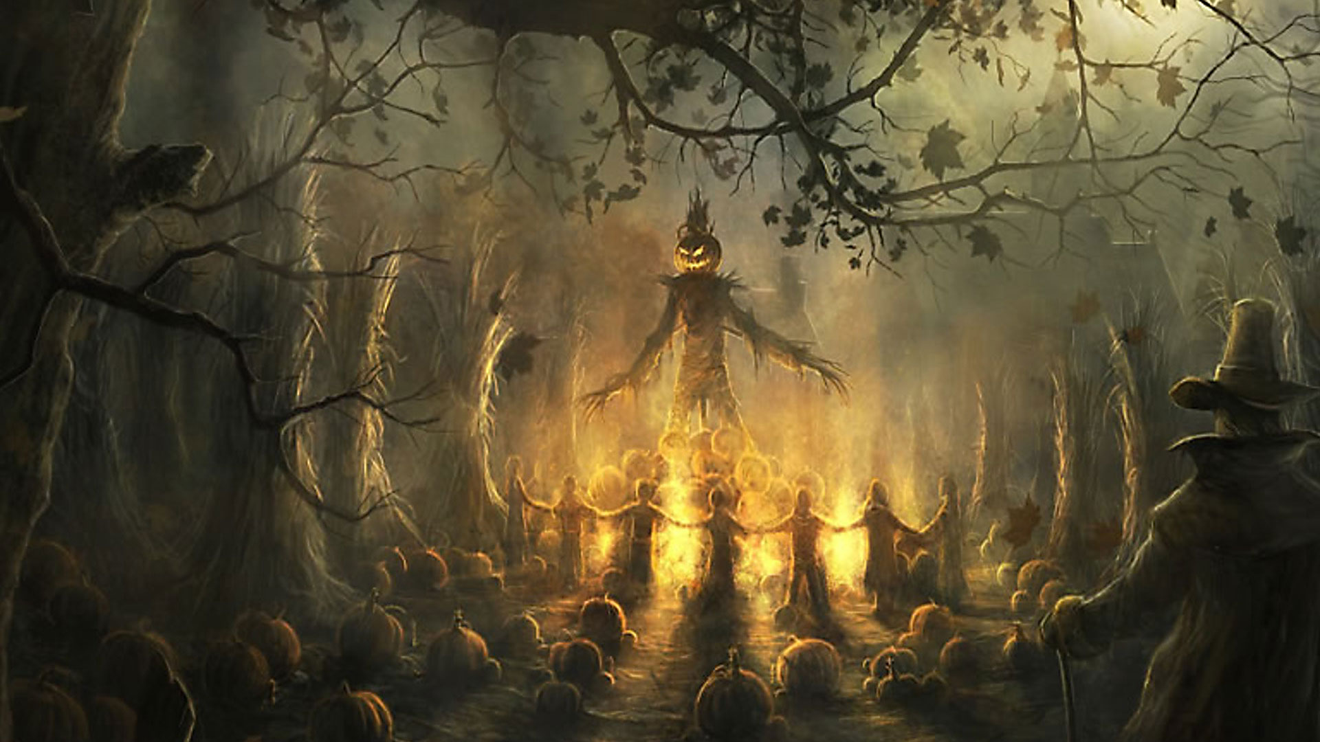 Fall Outdoor Decorations Wallpaper 25 Scary Halloween 2017 Hd Wallpapers Amp Backgrounds