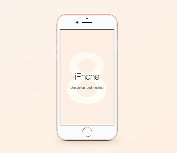 10+ Latest Free Apple iPhone 8  8 Plus Sketch  PSD Mockup Templates