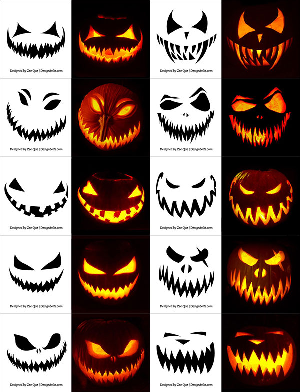 Halloween Pumpkin Carving Faces Ideas amazing home interior