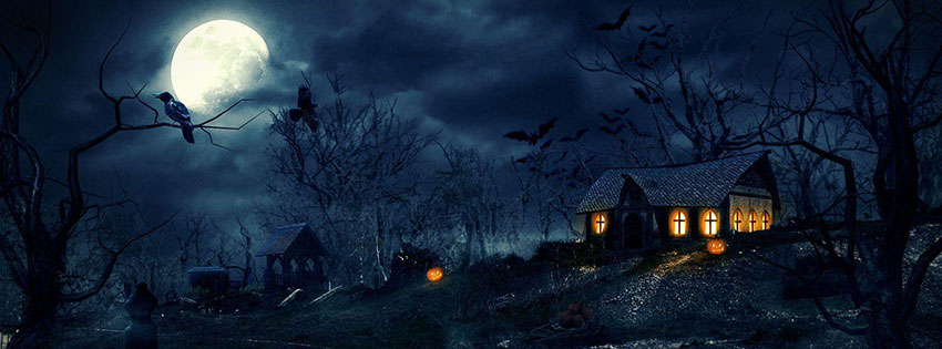 Mother Quotes Wallpapers Hd 20 Scary Happy Halloween 2017 Facebook Timeline Cover