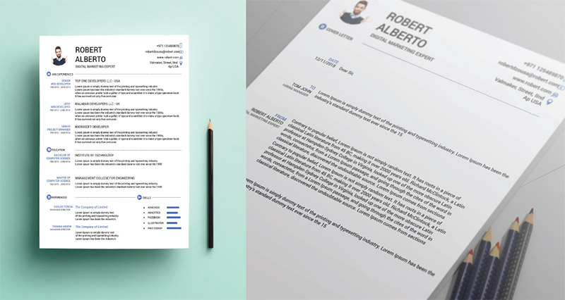 10 Fresh Free Resume / CV Design Templates 2018 in Word, PSD, Ai