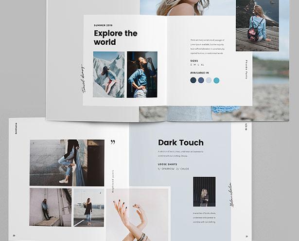 20+ Beautiful Brochure Design Layout Ideas  Templates 2018 for