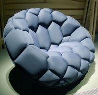 New Media II: comfiest chair EVER!