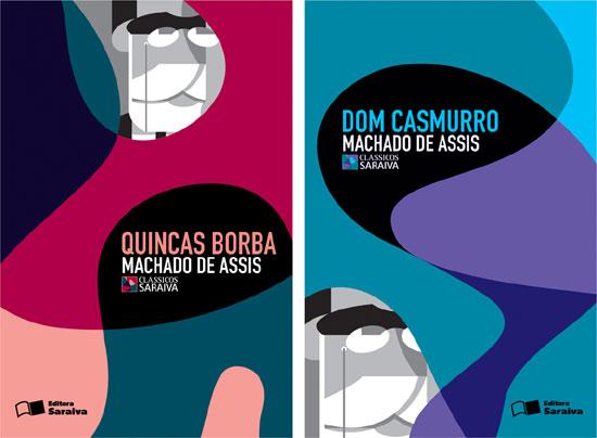 rex design graphic project for the covers of \u0027saraiva classics - american institute of graphic arts